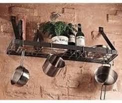 small pot rack very useful or visual