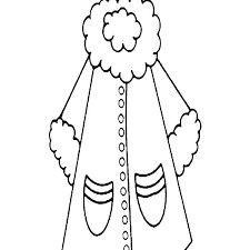 winter coat coloring page spring clothes pages colouring es for women in clothing winter coat coloring page