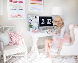 cute office decor ideas. Beautiful Cute Office Desk Ideas Decorating Workspace Cubicle Work Pink Chair White Storage Drawer Cool Modern Diy Decor