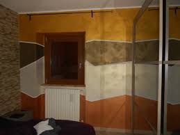 Pittura decorativa realizzata con finitura acrilica dallaspetto