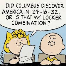 Columbus Day Quotes The Peanuts. QuotesGram