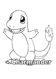 Small Picture Pokemon Charmander Coloring Page Pokemon Pinterest Pokemon