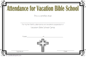 Printable Vbs Certificates Free Top 10 Template Ideas