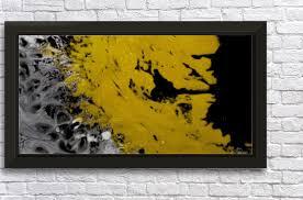 black silver gold paint splatter