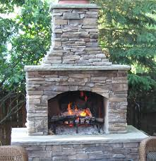 36 contractor series masonry outdoor fireplace kit