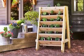 DIY Vertical Herb Planter