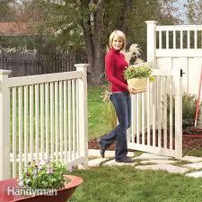 installing a vinyl fence diy family