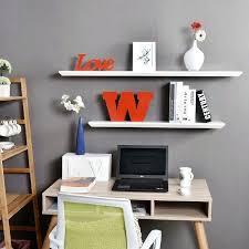 awesome inch white floating wall shelves for interesting office book storage decor 36 shelf ikea dazzling your interior dec