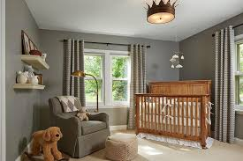 baby boy nursery ceiling lighting and caddy corner crib transitional with crown light gray boys ideas 740x493px
