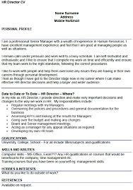 Free Simple Resume Cv Template Design For Art Director Cv