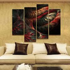 fractal abstract red yellow light blue wall art painting pictures print on canvas abstract the picture on red and light blue wall art with fractal abstract red yellow light blue wall art painting pictures