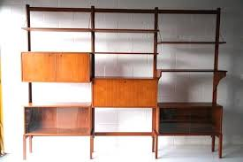 modular shelving unit large teak 9 units ikea