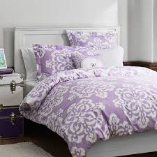 ikat medallion duvet cover sham lavender pbteen pertaining to purple cotton design 0