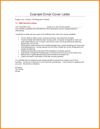 Emailed Cover Letters 10 Email Cover Letter Subject Line Wsl Loyd