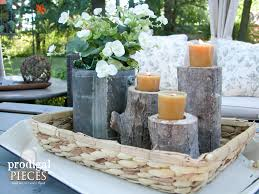 Log Crafts Log Candlesticks A Diy Tutorial Prodigal Pieces