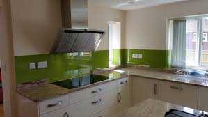 Kitchen Glass Splashback Bespoke Glass Kitchen Splashbacks Coloured Glass Splashbacks