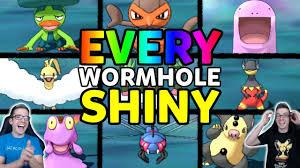 Finding EVERY Ultra Wormhole Shiny Pokemon! Pokemon Ultra Sun and Ultra Moon  Shiny Reaction Montage - YouTube