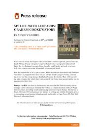 Sample Press Release For Book Example Press Release Courtesy Of Penguin Books Uk My Life With