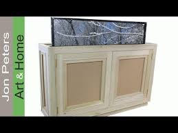 hidden television furniture. how to build a tv lift cabinet part 1 of 3 jon peters hidden television furniture