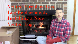 best gas fireplace logs. Astonishing Vented Fireplace Gas Log Replacement Installing A Nonvented Picture Of Vent Vs Concept And Direct Best Logs