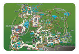busch gardens park map