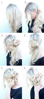how to do style messy side bun updo