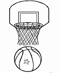 Basketball Coloring Pages Basketball Coloring 8 575690 Robbie