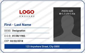 identity card size 5 best office id card templates ms word microsoft word id card
