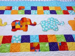 80 best Elephant Quilts ..... images on Pinterest | DIY, African ... & Elephant Baby Quilt from http://www.homesewnbycarolyn.com Adamdwight.com