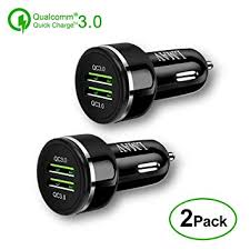 Car Charger,Quick Charge 3.0,48W 6A Dual QC3.0 ... - Amazon.com