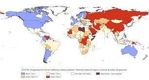 Archivo:2019, Legislación contra el tráfico de personas, Mapa del mundo.svg  - Wikipedia, la enciclopedia libre