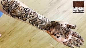 Best Mehndi Design Video Full Hand Mehndi Designs Best Mehendi Video 2017