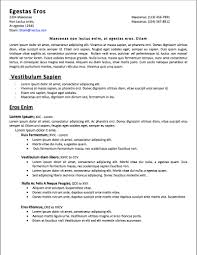 examples of resumes resume high school example basic inside 81 81 interesting easy resume examples of resumes