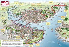 map of istanbul tourist attractions sightseeing  tourist tour