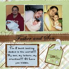 Scrapbooking Ideas For Baby Boy With His Super Hero 3 Great First Year