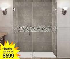 inline shower door