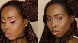 natural makeup tutorial dark skin makeup tutorial dark skin makeup makeup tutorial for black women you