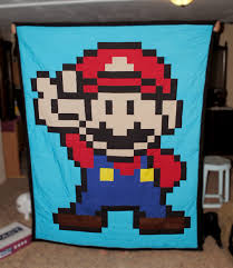 Mario quilt for nephew's first Christmas. How'd I do? - Album on Imgur & Finished product! Adamdwight.com