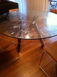 how to repair scratched black glass table top designs