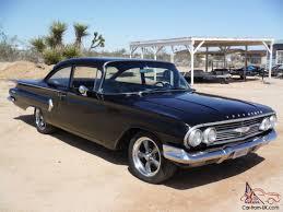 RARE! BISCAYNE 2 DOOR CALIFORNIA CAR ! 350 4 SPEED, MIDNIGHT BLACK !!!