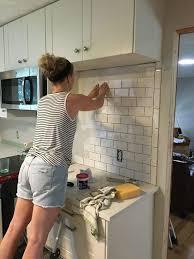 how to remove tile backsplash you how to create a tile backsplash diy true value projects