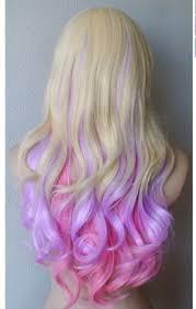 Znalezione obrazy dla zapytania colorful hair ends