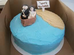 Laurens Cakes Grooms Cake Fishing Theme