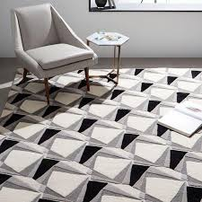 black and white rug patterns. Modren And In Black And White Rug Patterns
