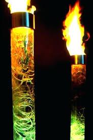 fire columns iv pipestone outdoor gas column target