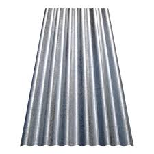 gibraltar building s 12 ft corrugated galvanized steel 29 gauge roof panel