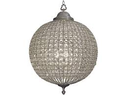 round crystal pewter chandelier with leaf decoration large