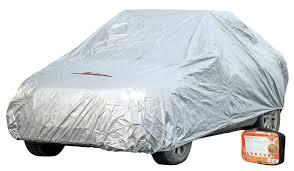 Чехол-<b>тент</b> на автомобиль <b>защитный</b>, размер M (495х195х120см)