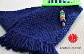Loom Knitting Patterns For Beginners Amazing Loom Knit Scarf On Any Loom For Beginners LoomaHat