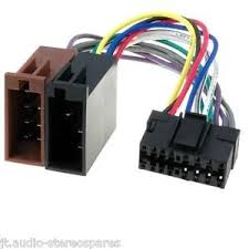 sony cdx gt20 cdx gt23 16 pin car radio stereo wiring connections Car Stereo Wiring Diagram at Connections Of A Car Stereo Wiring